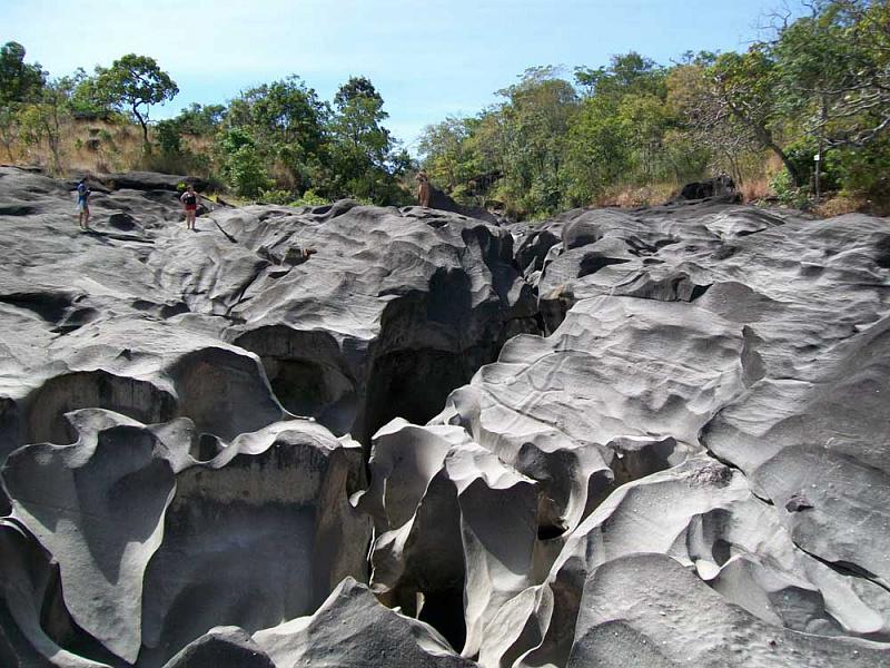 «Лунная долина» в Национальном парке «Chapada dos Veadeiros» в Бразилии авиатур