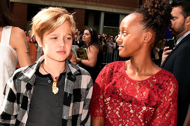 Дети Джоли и Питта подружились со звездой сериала