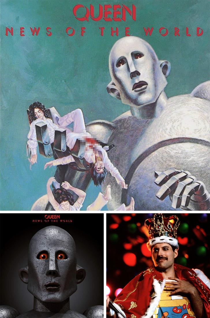 10 обложек музыкальных альбомов, в которых зашифрованы тайные послания всему человечеству дизайн
