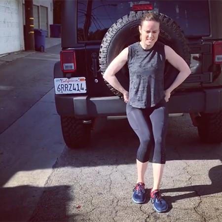 Настоящая Супервумен: как Бри Ларсон с помощью двухтонной машины качает мышцы Фигура / Фитнес и спорт