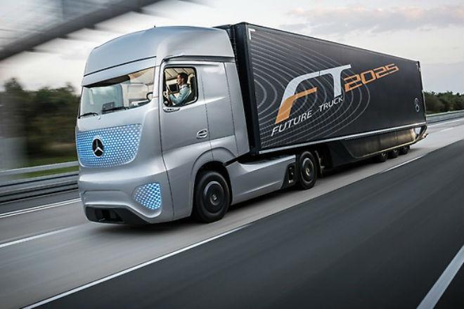 Невероятные грузовики будущего автомобили