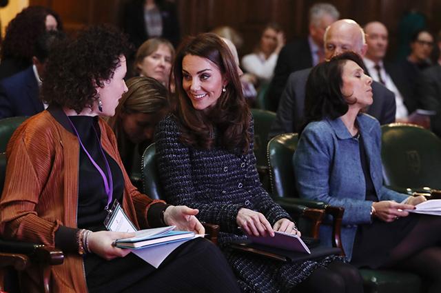 Кейт Миддлтон посетила конференцию, посвященную психическому здоровью Монархии