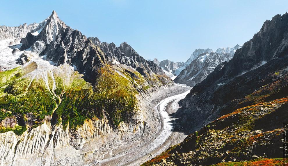 Времена года на высоте 2 километров природа