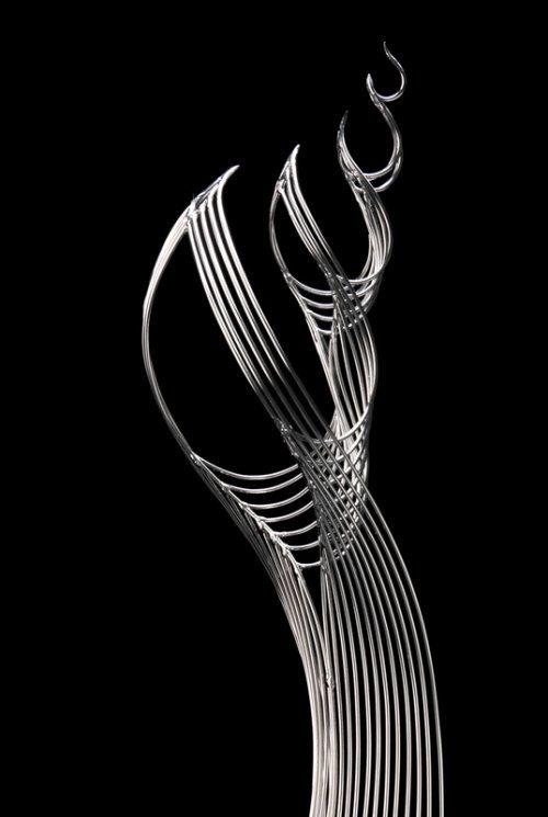 Проволочные скульптуры из проволоки
