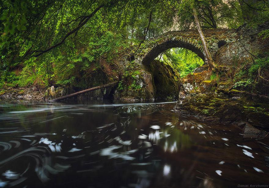 Сказочные мосты в реальности мосты