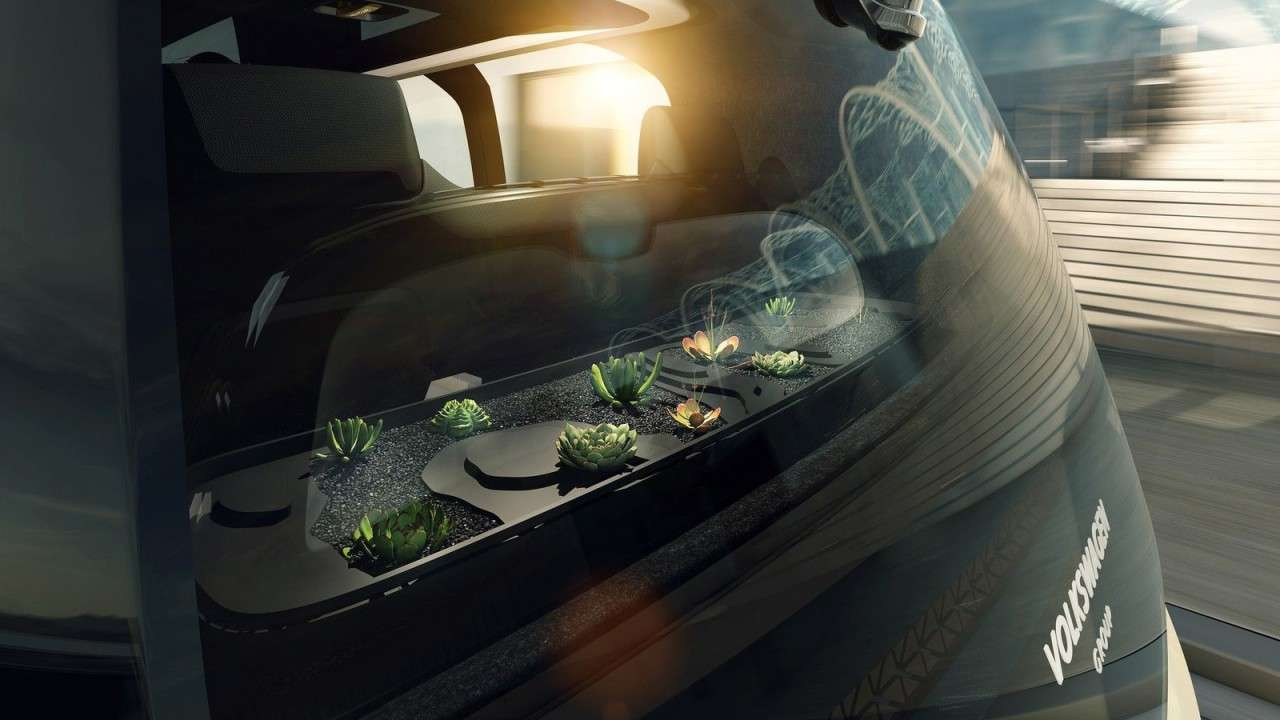 Volkswagen представил электрокар, который нельзя водить sedric