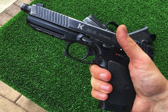 ПЛ-15: новый пистолет ФСБ оружие