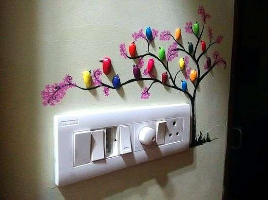 Оригинальная идея для декора стен декор стен