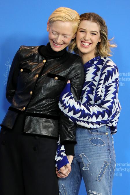Тильда Суинтон представила фильм вместе с дочерью Хонор Дети / Дети знаменитостей