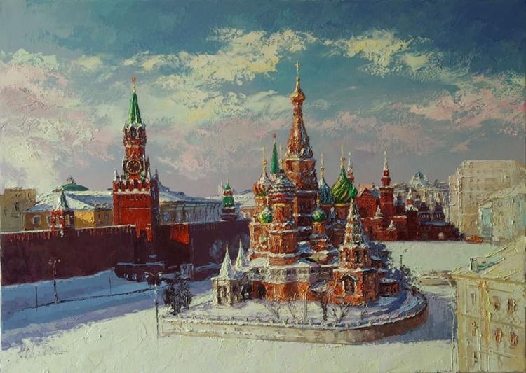 Художник Михаил Бровкин. Пейзажи и натюрморты