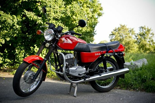 Лучше чем он в СССР не было, легендарный мотоцикл Ява 350 Мото