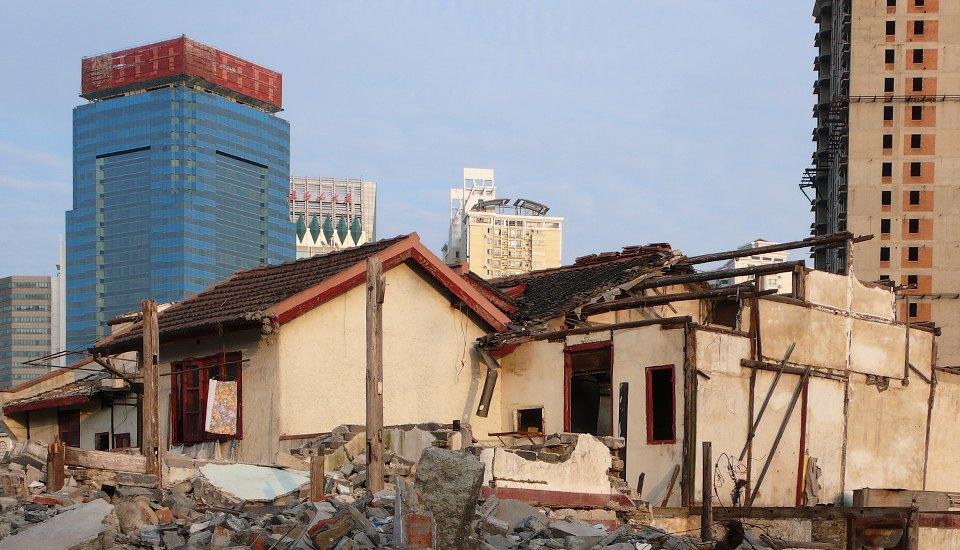 Галерея: где живут самые упрямые люди Китая архитектура
