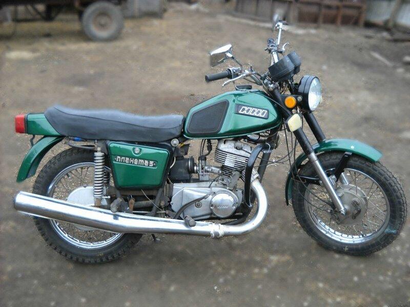 ИЖ Планета 5, один из самых лучших мотоциклов СССР ИЖ Планета 5
