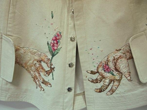 Рисунок или вышивка? «Живопись иглой» как оригинальный вид искусства вышивка