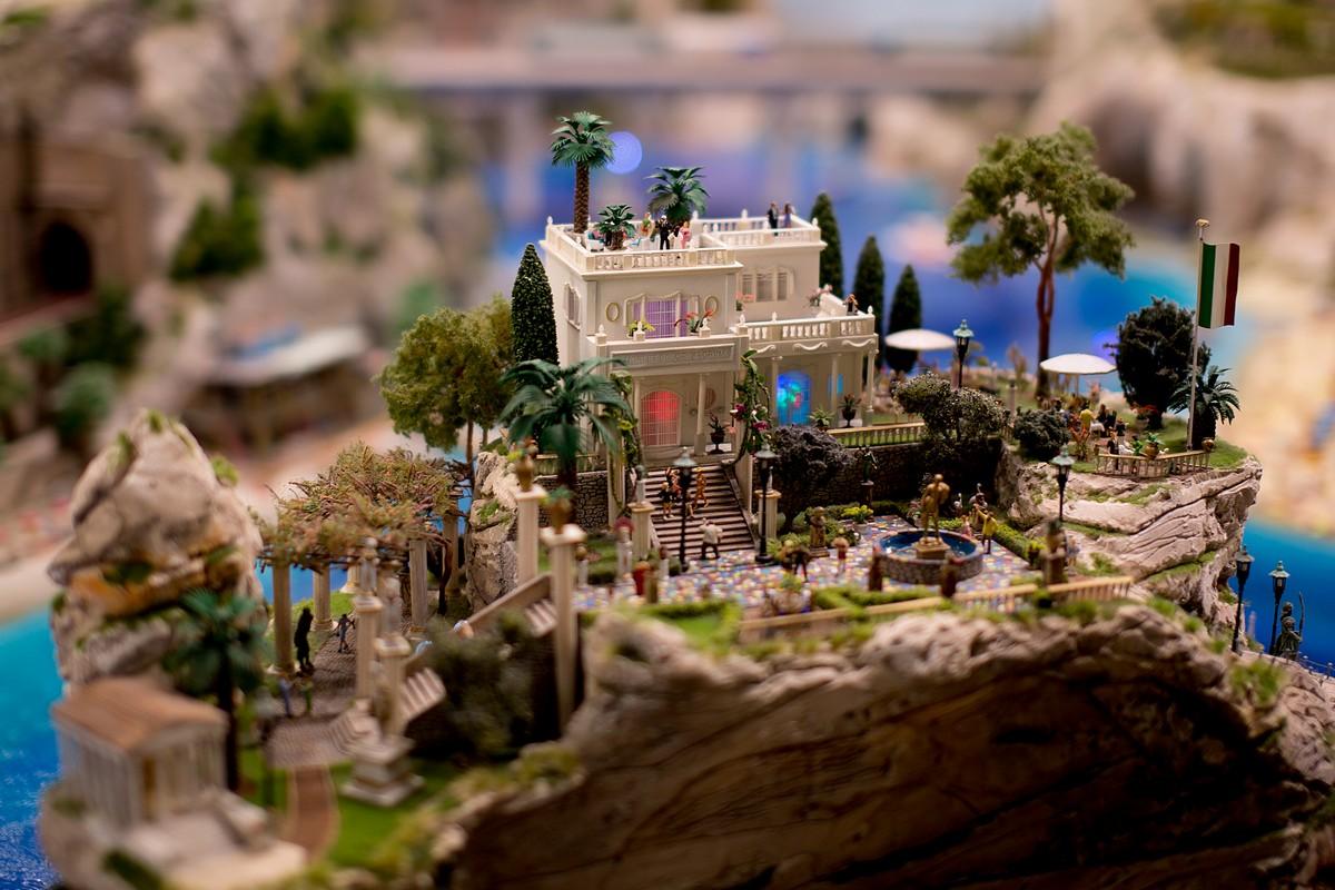 Музей маленьких чудес — Miniatur Wunderland в Гамбурге Дальние дали